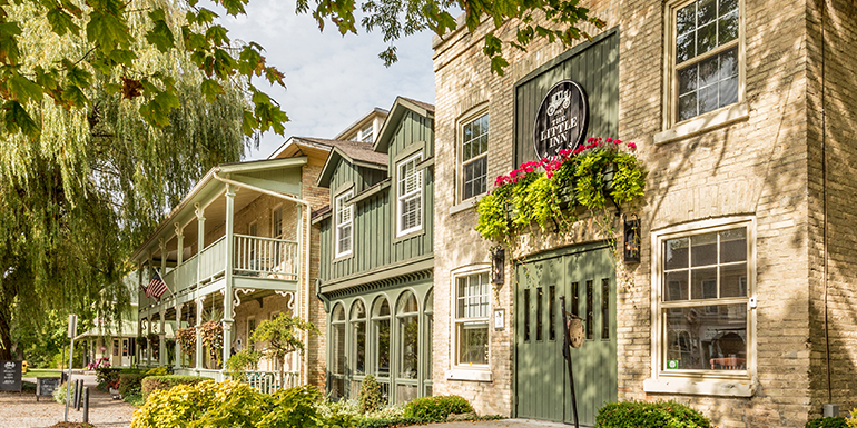 Packages The Little Inn Bayfield Ontario Canada